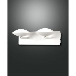 Hale LED, weiß, chrom, Methacrylat, satiniert, 1400lm, 16W