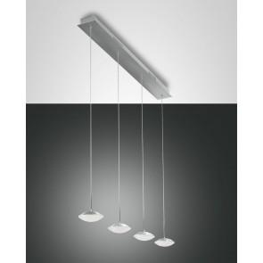 Hale LED, Aluminium gebürstet, Methacrylat, satiniert, 2800lm, 32W