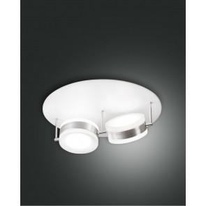 Mabel LED, Aluminium gebürstet, Methacrylat, satiniert, 4320lm, 48W