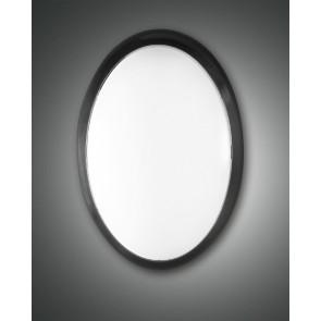 Preston LED, schwarz, Kunststoff, weiß, 1300lm, 14W
