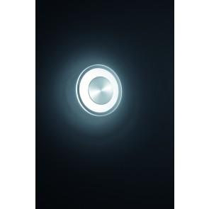 Alide, Ø 20 cm, inkl LED, nickel matt