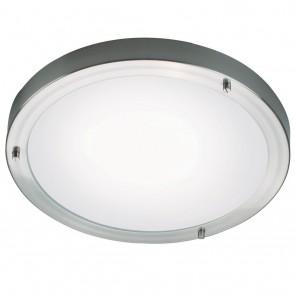 Ancona Maxi LED, Stahl gebürstet