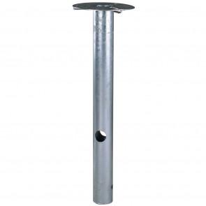 Base Höhe 50 cm metallisch zylinderförmig