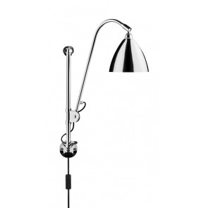 BL5 Wall Lamp, Ø 16, Chrome Base, Chrome shade