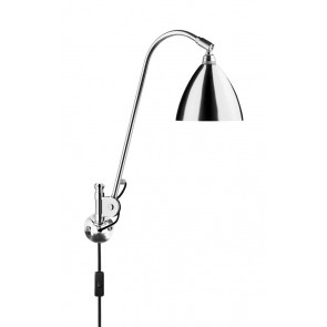 BL6 Wall Lamp, Ø 16, Chrome Base, Chrome shade
