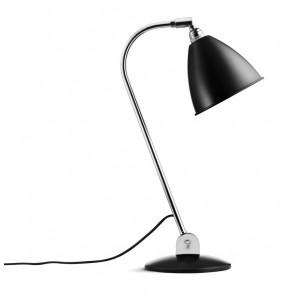 BL2 Table Lamp, Ø 16, Chrome Base, Black shade