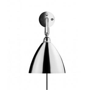 BL7 Wall Lamp, Ø 16, Chrome Base, Chrome shade