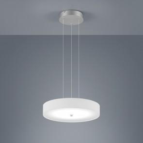 Bora, höhenverstellbar, dimmbar, Ø 45 cm, inkl LED, weiß
