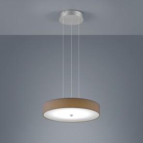 Bora, höhenverstellbar, dimmbar, Ø 45 cm, inkl LED, mocca