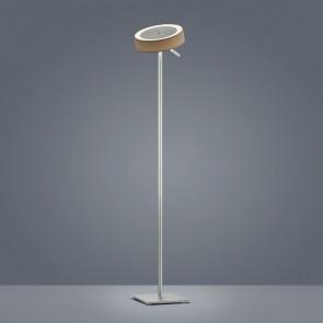 Bora, Höhe 135 cm, Stufendimmer, rund, inkl LED, mocca