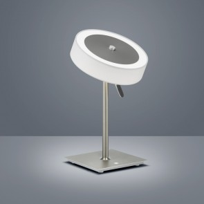 Bora, Höhe 38 cm, Stufendimmer, rund, inkl LED, weiß