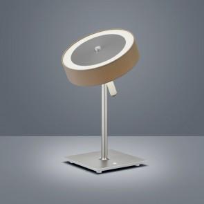 Bora, Höhe 38 cm, rund, Stufendimmer, inkl LED, mocca