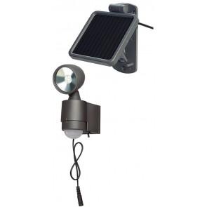 Brennenstuhl Solar LED-Spot SOL 1x4 IP44 mit Infrarot-Bewegungsmelder 4xLED 0,5W 160lm Kabellänge 4,75m Farbe Anthrazit