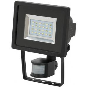 SMD-LED-Leuchte L DN 2405 PIR IP44 mit Infrarot-Bewegungsmelder schwarz