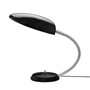 Cobra Table Lamp, Jet-Black shade
