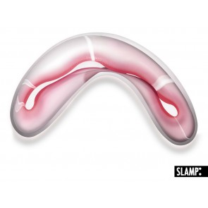 Crocco Medium, Länge 44 cm, Pink