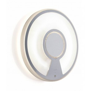 Luceplan Lightdisc, Ø 32 cm, weiß/transparent