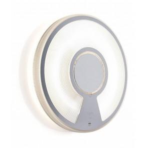 Luceplan Lightdisc, Ø 40 cm, weiß, Dimmer