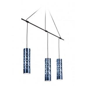 SLAMP Dimple Trio, Länge 135 cm, Blau
