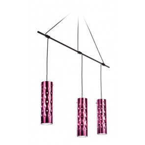 Dimple Trio, Länge 135 cm, Rosé