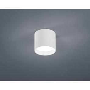 Dora Ø 10 cm weiß 1-flammig zylinderförmig