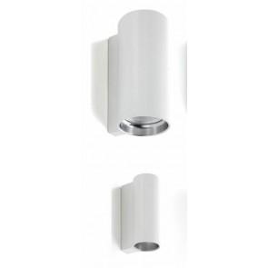 E04 IP55, Ø 7 cm, 46,5 cm Höhe, GU53, max 2x35W, weiß