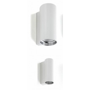 E04, Ø 7 cm, 27,9 cm Höhe, GU53, max 30W, weiß
