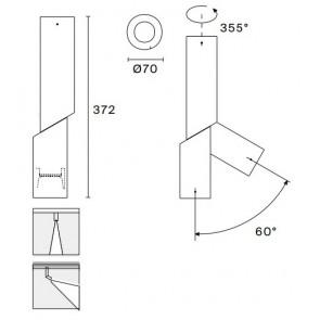 E06, für Wand+Decke, anthrazit