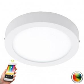 Fueva-C, LED, Ø 22,5 cm, Farbwechsel, CCT, Weiß