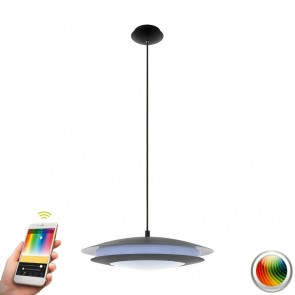 Moneva-C, LED, Ø 48,5 cm, Farbwechsel, CCT