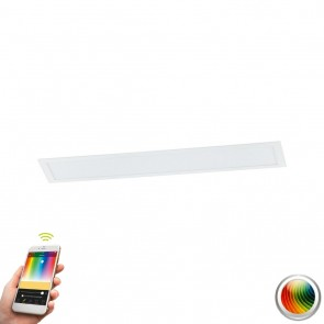 Salobrena-C, LED, 120 x 30 cm, mit Farbwechsel, CCT