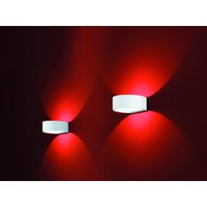 Fosca, inkl LED, mattweiß