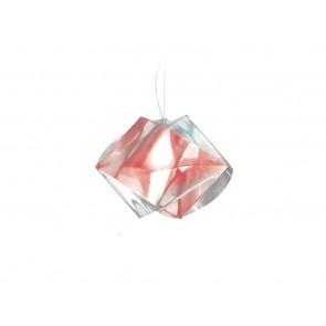 SLAMP Gemmy Prisma, Ø 42 cm, rubinfarben