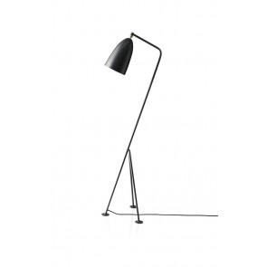 Gräshoppa Floor Lamp, Anthracite Grey shade