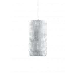 Pedrera H2O Ø 13 cm weiß 1-flammig zylinderförmig