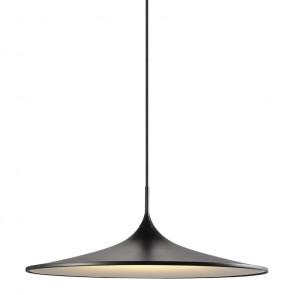 Skip 57, LED, IP20, Ø 57 cm, schwarz