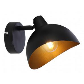 Layton Höhe 19 cm schwarz 1-flammig rund
