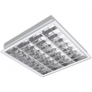 Kalando EVG 62 x 62 cm weiß 1-flammig quadratisch