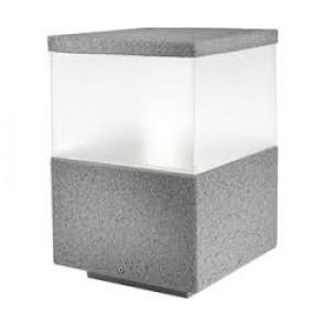 Cubik, Höhe 23 Cm, Steingrau (Größe S, Farbe Steingrau)