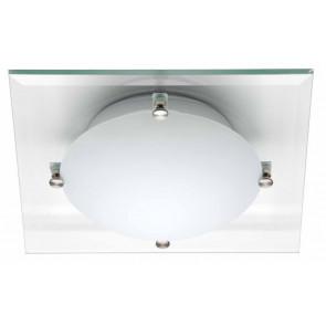Ardenza 30 x 30 cm weiß 1-flammig quadratisch