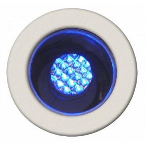 Cosa 15 10er-Set blaues Licht Ø 1,5 cm metallisch 1-flammig rund