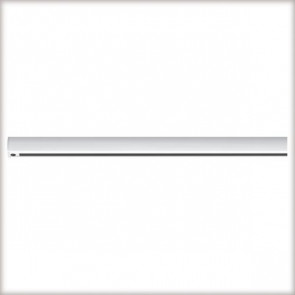 URail Light&Easy Schiene Länge 1 M weiß rechteckig
