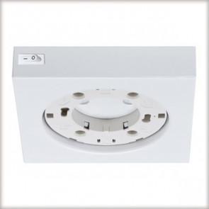 Möbel ABL weiß 1-flammig quadratisch
