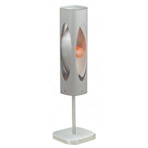 Caiman Höhe 51 cm metallisch 1-flammig viereckig