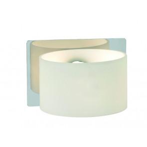 Sigtuna Wall 1 Breite 12 cm weiß 1-flammig rund