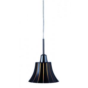 Louisianna Uno 1 Höhe 22,5 cm schwarz 1-flammig rund