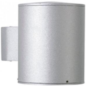 Bagran Höhe 13,5 cm silber 1-flammig zylinderförmig