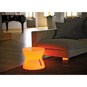 Lounge Tisch Mini LED, Farbwechsel, Höhe 33 cm, Fernbedienung