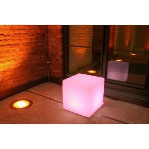Cube Outdoor LED, Farbwechsel, Höhe 45 cm, Fernbedienung