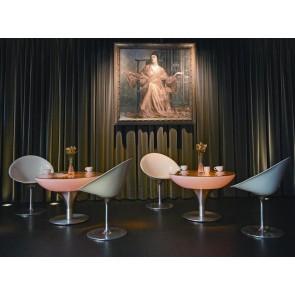 Lounge 55 LED Pro Accu, Farbwechsel, Höhe 55 cm, Ø 84 cm, Fernbedienung, inkl Glasplatte